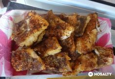 Grillezett halfilé Ketchup, French Toast, Breakfast, Food, Crickets, Meal, Essen, Morning Breakfast