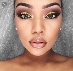 Flawless Skin Dewy Look with smokey eyes ♥ #smokyeye #dewy #flawless #makeuplooks