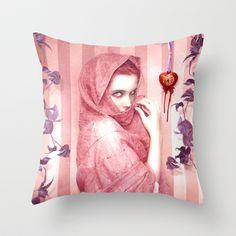 Love Throw Pillow by Alexandra V Bach - $20.00