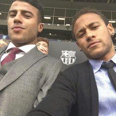 Rafinha alcantara & Neymar