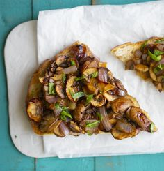 Savory Mushroom Toast