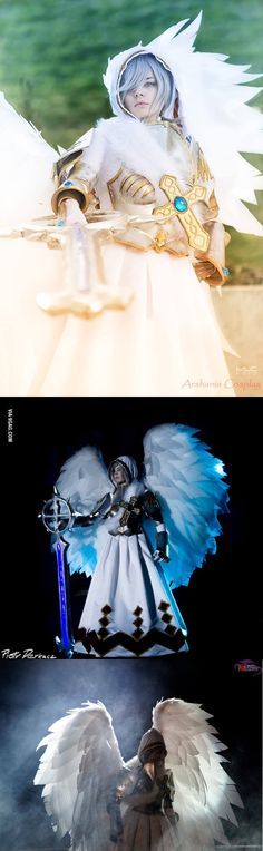 Arshania as Archangel - my second cosplay, what do you think about it? :)