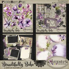 Красиво Boho ~ Add-on Bundle {от Jumpstart Designs}
