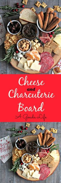 Cheese and Charcuterie Board - easy AND impressive appetizer + tips for stress-free entertaining. (Cheese Snacks French Toast)