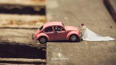 Ekkachai Saelow retrata casais em miniatura - Foto: Ekkachai Saelow