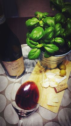 #basil #barolo #redwine #garlic #olive