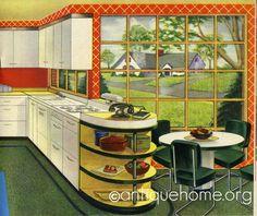 https://flic.kr/p/4mpFtH | 1947 Kitchen