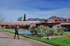 A Visit to Frank Lloyd Wright's Home – Taliesin West in Scottsdale
