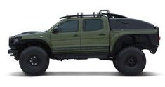 '10 Toyota Tacoma Polar Expedition Concept. Okay ... it's not old. But it's cool.