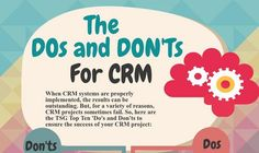 A correctly deployed CRM can help entrepreneurs big time by marketing automation and process streamlining but a badly deployed one can be a source of constant nuisance since you therefore you must make sure that your CRM is a bliss not a pain by adhering to the simple guidelines provided by the experts. What needs to be understood about the CRM is that its not just a part of your business strategy rather it's a business strategy itself so you must not see it as a mere software but understand…