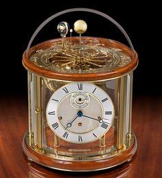Tellurium I Clock at ScullyandScully.com