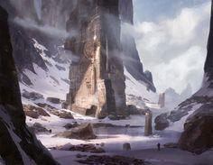 ArtStation - Ruins, Giorgio Grecu