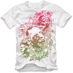 Premium free t-shirt free vector zombie design @freebievectors