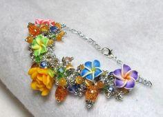 My Secret Garden - Jewelry creation by Linda Foust