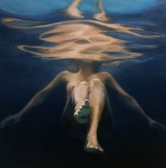 © Martine Emdur ~ Blue Velvet ~ 2009 oil on linen at Olsen Irwin Gallery Sydney Australia