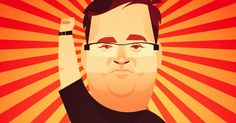 Reid Hoffman believes that his company will determine everyone's economic future. Is he right?
