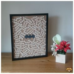 Bat Logo, Wedding Guest, Drop Box Frame