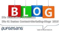 Empfehlenswerte content-marketing-blogs