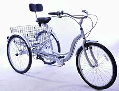 Adult tricycle sales – The best adult tricycles online. Tricycle Bike, Adult Tricycle, Trike Bicycle, Triumph Motorcycles, Vintage Motorcycles, Custom Motorcycles, West Coast Choppers, Road Glide, Road King