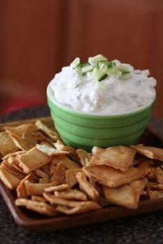 Cucumber Feta and Greek Yoghurt Dip