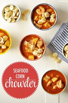 Easy Seafood Corn Ch