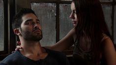 Cora Hale (Adelaide Kane) and Derek Hale (Tyler Hoechlin)