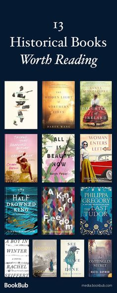 13 historical fiction books to read this year. If you love history books, check out these great novels, including some WWII fiction and books based on true stories.
