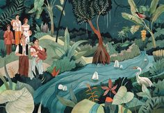 Cien Años de Soledad | Client: Penguin Random House on Behance