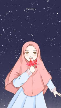 Old Anime, Anime Art, Manga Anime, Anime Black Hair, Girl Cartoon Characters, Hijab Drawing, Simple Anime, Islamic Cartoon, Hijab Cartoon