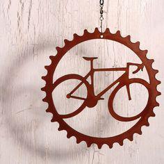 Speedy Road Bike Cycling Art Wind Chain by ShineOnSportyGirl