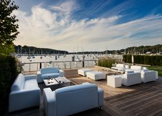 Harbor Club at Prime - Sunset Deck Wedding Bells, Wedding Events, Outdoor Furniture Sets, Outdoor Decor, Gold Coast, Event Venues, Corporate Events, Luxury Wedding, Big Day