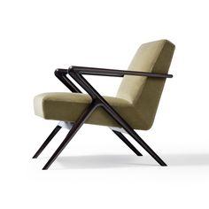 Capri Lounge Chair | HOLLY HUNT Sofa Furniture, Furniture Design, Beach Lounge Chair, Home Library Design, Holly Hunt, Chiavari Chairs, Chair Bench, Garden Chairs, Side Chairs