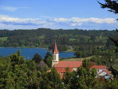 Puerto Octay, Llanquihue Lake, near Puerto Varas.