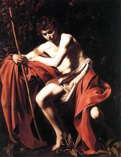 Caravaggio - 1602-03 - San Giovanni Battista - Kansas City, Nelson-Atkins Museum of Art