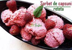 SORBET de CĂPȘUNI fără zahăr – un desert care îndulcește INIMA (rețetă + beneficii)