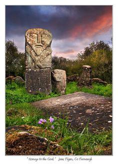 The Janus Figure, County Fermanagh, Northern Ireland