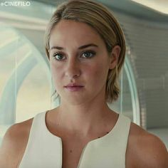 Tris in Allegiant. I like her hair this length, and when it was long.