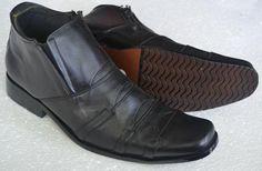 sepatu boots pria bahan kulit Rp 350.000