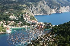 Assos is considered one of the most picturesque seaside villages of Kefalonia and is famous for its Venetian castle. Seaside Village, Greece Travel, Greek Islands, Venetian, Photo S, Travelling, Castle, River, Holiday