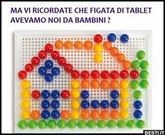 Tablet | BESTI.it - immagini divertenti, foto, barzellette, video 90s Toys, Retro Toys, My Childhood Memories, Sweet Memories, For You Song, Infancy, My Memory, Beautiful Paintings, Happy Day