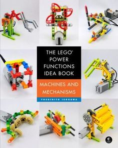The LEGO Power Functions Idea Book series - Yoshihito Isogawa - Trend Lego Technic 2020 Lego Hogwarts, Technique Lego, Lego Racers, Lego Challenge, Presents For Boys, Free Lego, Lego Toys, How To Make Toys, Simple Machines