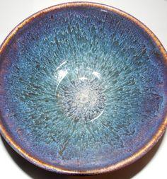 Amaco potters choice iron lustre under oatmeal