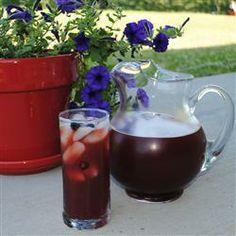 Raspberry Lemonade Iced Tea @ allrecipes.com.au