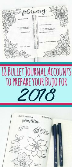 Start a bullet journal right by following these awesome bujo accounts! They will help you learn how to start a bullet journal, perfect your bujo setup, and learn how to create beautiful art.