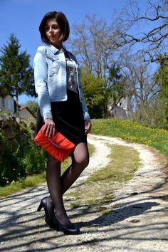 Look de printemps à retrouver sur : sweetymelystyle.blogspot.com