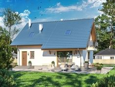 DOM.PL™ - Projekt domu ARP AMANT CE - DOM AP1-30 - gotowy koszt budowy Outdoor Decor, Home Decor, Decoration Home, Room Decor, Home Interior Design, Home Decoration, Interior Design