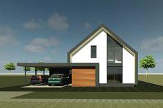 Schuurwoning Breecamp Oost | Zwolle - Ontwerp van AL architecten voor een nieuw te bouwen schuurwoningin Plan De Plantage in Breecamp Oost, Zwolle