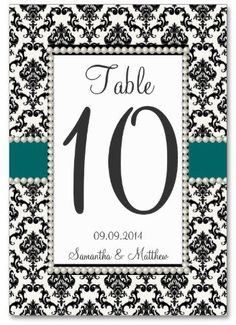 #Zazzle                   #table                    #VINTAGE #1920's #DECO #DAMASK #PEARL #TABLE #NUMBERS                         VINTAGE 1920's ART DECO DAMASK PEARL TABLE NUMBERS                            http://www.seapai.com/product.aspx?PID=1149877