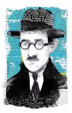 portrait of Fernando Pessoa for Cultura Magazine * retrato de Fernando Pessoa para a edição de Julho da Revista da Cultura