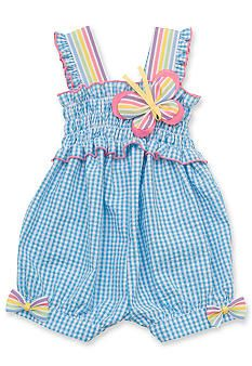 Another great find on Blue Gingham Butterfly Bubble Romper - Infant by Rare Editions Kids Outfits Girls, Toddler Outfits, Girl Outfits, Baby Girl Dress Patterns, Baby Dress Design, African Dresses For Kids, Blue Gingham, Little Girl Dresses, Kids Fashion
